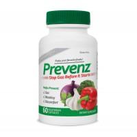 Хранителна добавка Prevenz 60 вегетариански капсули - при подуване на корема и газове-СЪС СРОК НА ГОДНОСТ 10/2021Г.