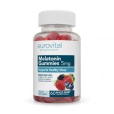 Melatonin Gummies 5mg (Mixed Berry) 60 вегетариански капсули -  подпомага съня