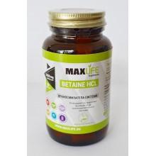 Хранителна добавка Betaine HCL 650mg 90 таблетки - MAXLIFE Supplements