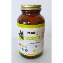 Хранителна добавка Broccoli Sprout 120 капсули - MAXLIFE Supplements