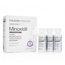 Против косопад и оплешивяване FOLIGAIN.P2 2% MINOXIDIL FOR WOMEN 3 Month Supply