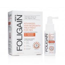 FOLIGAIN® Комплекс за регенерация на косата за мъже с Minoxidil 5% & Trioxidil 5% (2oz) 59 ml