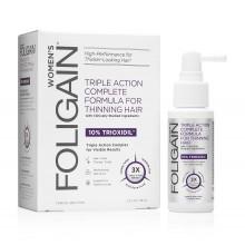 FOLIGAIN® Hair Regrowth Treatment For Women (Възстановяваща терапия за оредяла и слаба коса) - 10% Trioxidil® (2oz) 59ml-срок на годност 30.12.2020