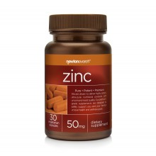 ZINC 50mg 30 Capsules - Newton Everett - при косопад, настинки, грип
