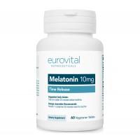 Хранителна добавка Eurovital MELATONIN (Time release) 10mg
