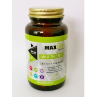 Хранителна добавка MILK THISTLE 400 мг 60 мкапсули - MAXLIFE Supplements