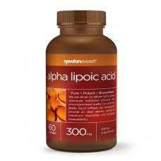 Alpha Lipoic Acid 300 mg 60 caps - Newton Everett със срок на годност 03.2021г