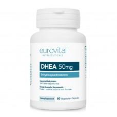 Хранителна добавка Eurovital DHEA 50mg