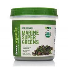 Marine Super Greens водорасли на прах 227 гр - BareOrganics