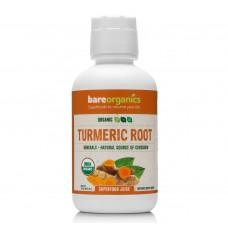 Turmeric root juice 473 ml - BareOrganics