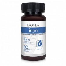 Хранителна добавка Biovea IRON 18mg 90 Capsules