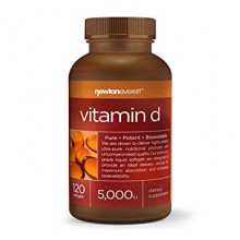 Vitamin D3 5000iu 120 softgels - Newton-Everett