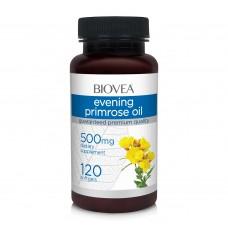 Хранителна добавка Biovea EVENING PRIMROSE OIL 500mg цена 37.50лв.