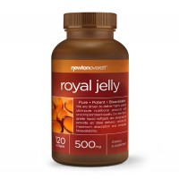 Хранителна добавка Newton Everett ROYAL JELLY 120 Capsules