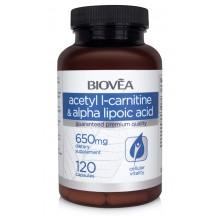 Аминокиселини Biovea Acetyl L-carnitinе 120 капсули цена 76.00 лв.