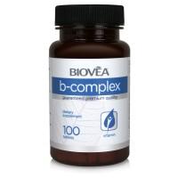 Хранителна добавка Biovea B-COMPLEX 450mg цена 34.00лв.