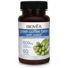 Хранителна добавка Biovea GREEN COFFEE BEAN WITH SVETOL® 800mg цена 27. 50 лв