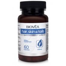 Хранителна добавка Biovea HAIR, SKIN & NAILS 60 Capsules цена 34.00 лв.
