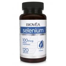 Хранителна добавка Biovea SELENIUM 120 Capsules - цена 23.00 лв.