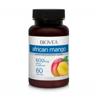 Хранителна добавка Biovea African Mango 60 капсули цена 20.00лв.