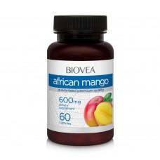 Хранителна добавка Biovea African Mango 600mg 60 капсули