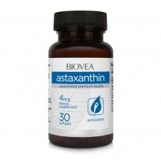 Антиоксидант Biovea ASTAXANTHIN 4mg 30 капсули