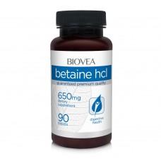Хранителна добавка Biovea BETAINE HCL 650mg