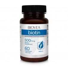 Хранителна добавка Biovea BIOTIN (Vitamin B7) 500mcg