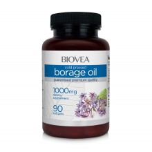 Хранителна добавка Biovea BORAGE OIL/ OMEGA 6 1000 mg 90 softgels