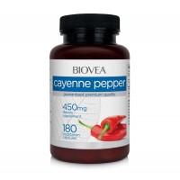 Хранителна добавка Biovea CAYENNE PEPPER 450mg цена 25.50лв.
