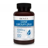 Хранителна добавка Biovea CORAL CALCIUM PLUS 1000mg цена 29.50лв.