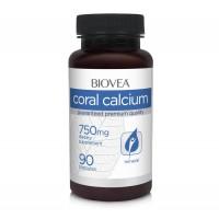 Хранителни добавки Biovea CORAL CALCIUM 750mg - цена 27.50лв.