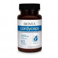 Хранителна добавка Biovea CORDYCEPS 450mg 60 таблетки цена 28.00лв.
