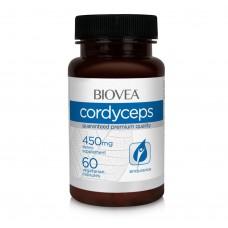 Хранителна добавка Biovea CORDYCEPS 450mg 60 таблетки-срок на годност 28.12.2020