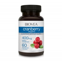 Хранителна добавка Biovea CRANBERRY (Органична) 400mg цена 25.50лв.