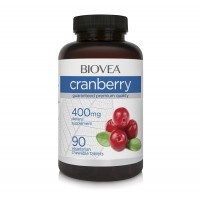 Антиоксидант Biovea CRANBERRY 400mg 90 Tablets цена 33.00лв.