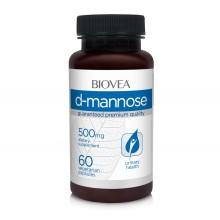 Хранителна добавка Biovea D-MANNOSE 500mg 60 капсули цена 30.00лв.