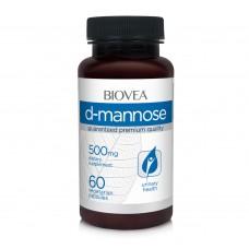 Хранителна добавка Biovea D-MANNOSE 500mg 60 капсули