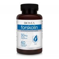 Хранителна добавка Biovea FORSKOLIN 50mg 60 Capsules цена 51.50лв.