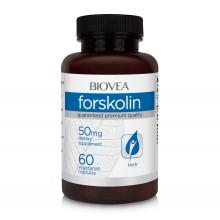 Хранителна добавка Biovea FORSKOLIN 50mg 60 Capsules - срок на годност - 30.09.2020