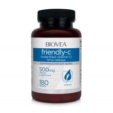 Витамин С Biovea FRIENDLY-C (Esterfied Time Release) 500mg цена 30.50лв.