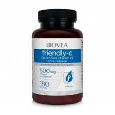 Витамин С Biovea FRIENDLY-C (Esterfied Time Release) 500mg цена 30.50лв.