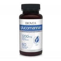 Хранителна добавка Biovea GLUCOMANNAN 1200mg цена 23.00лв.