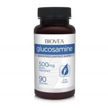 Хранителна добавка Biovea GLUCOSAMINE 500mg 90 Capsules цена 25.50лв.