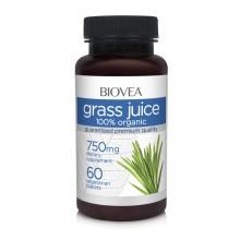 Хранителна добавка Biovea GRASS JUICE (Organic) 750mg 60 цена 27.00лв.