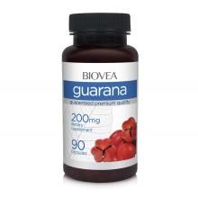 Хранителна добавка Biovea GUARANA 200mg 90 капсули цена 37.50лв.