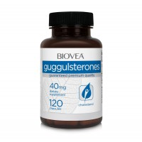 Хранителна добавка Biovea GUGGULSTERONES 40mg 120 Capsules цена 31.50 лв.