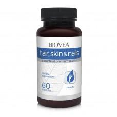 Хранителна добавка Biovea HAIR, SKIN & NAILS 60 Capsules