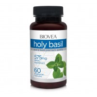 Хранителна добавка Biovea HOLY BASIL 60 Caps - срок на годност - 30.07.2020