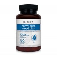 Мощен афродизиак Biovea HORNY GOAT WEED PLUS 120 Capsules